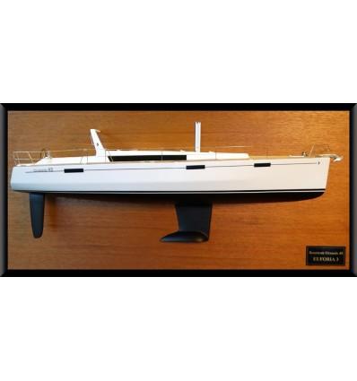 Beneteau Oceanis 45 custom half model