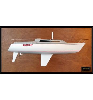 Santa Cruz 33 custom half model