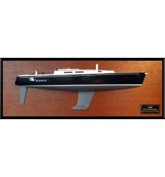 J120 half model with deck details