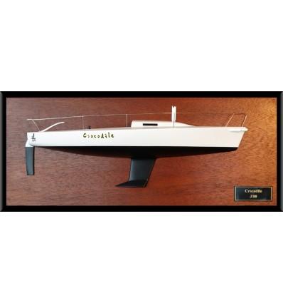 J80 half model with deck details