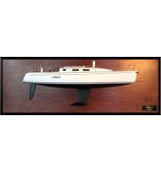 J109 half model with deck details