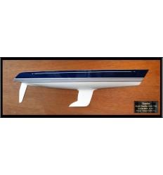 X Yachts X-442 half hull