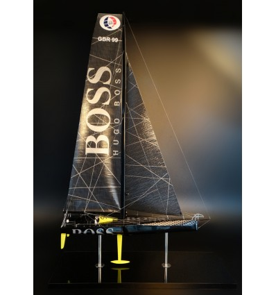 Alex Thompson's Vendée Globe racer Hugo Boss model