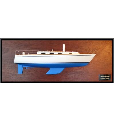 Pearson 34 custom half model