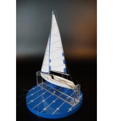 Teaching sailing boat model