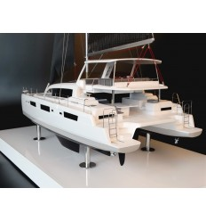 Voyage 575 catamaran custom model