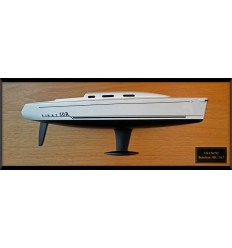 Beneteau First 10R or Beneteau 34.7 flush deck half hull