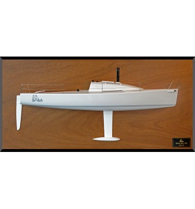 Flying Tiger 10m half model with deck details