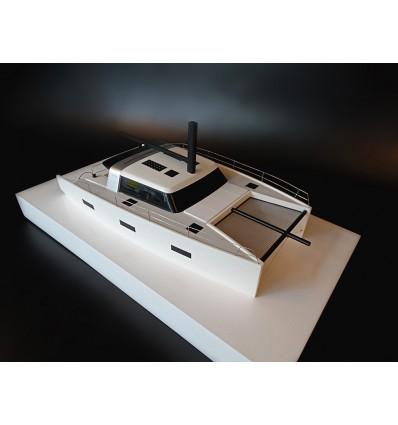 VAAN R4 Sailing catamaran custom model
