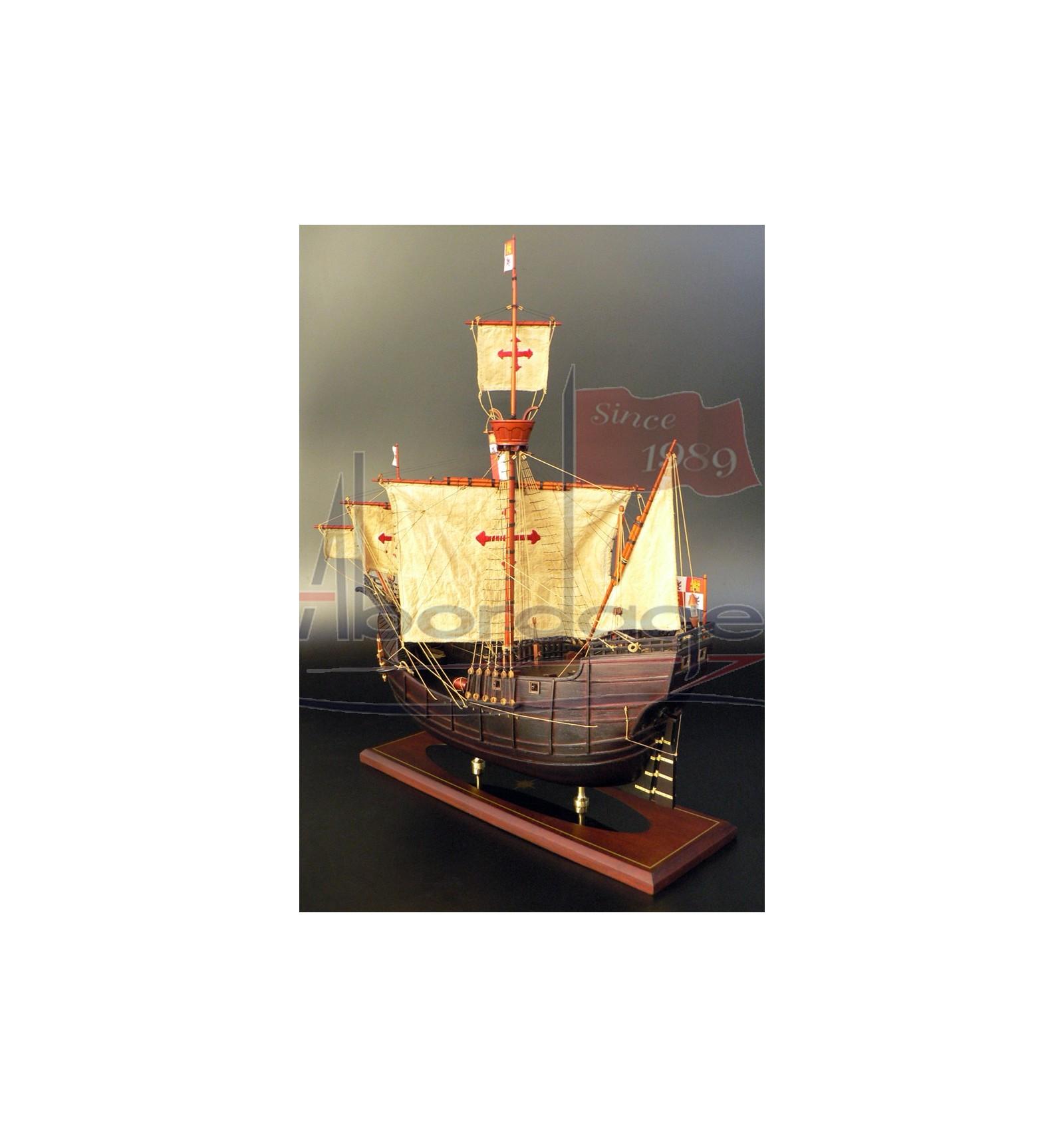 Christopher Columbus Santa Maria Collectible Ship Model
