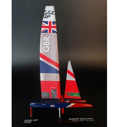 Sail GP GREAT BRITAIN desk model