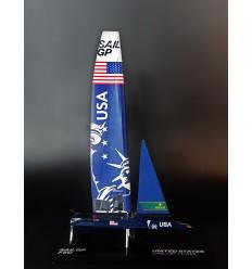 Sail GP UNITED STATES desk model