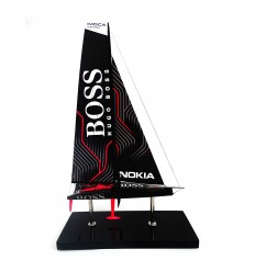 Alex Thomson racing's new Hugo Boss yacht
