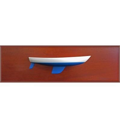 Coronado 30 half hull