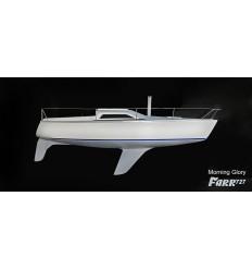 Farr 727  half model