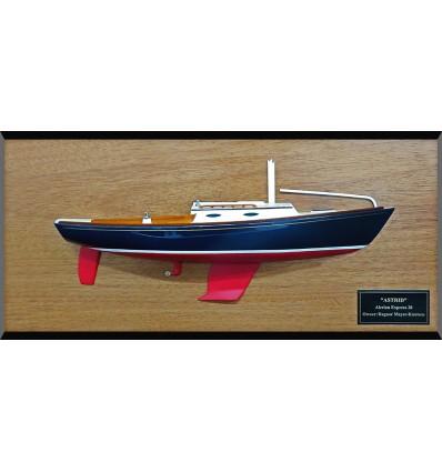 Alerion Express 28 custom half model with deck details