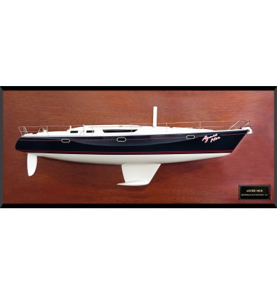 Jeanneau 45.2 custom half model with deck details