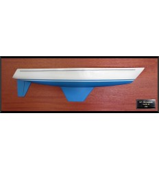 Nordic 40 flush deck half hull