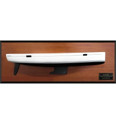 Hanse 385 flush deck half hull
