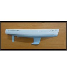 Beneteau Oceanis 46 flush deck half hull