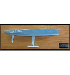 Farr 400 custom half hull flushdeck