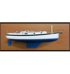 Nonsuch 33 half model with deck details