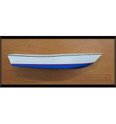 Mako 232 power boat custom half hull