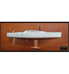 Nautor Swan 42 custom half model with deck details