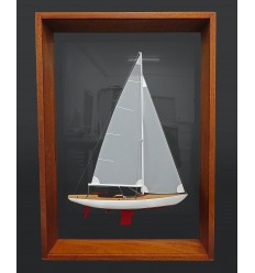 Kalmar K8 framed half model
