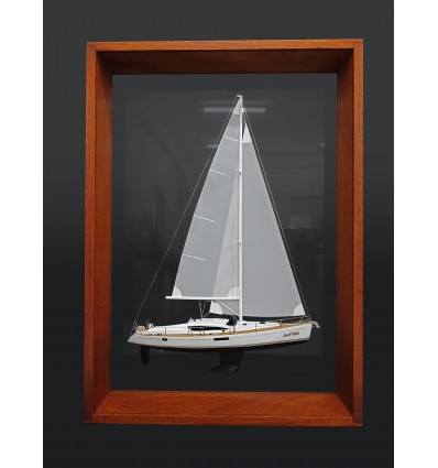 Jeanneau 50 DS framed half model