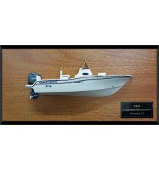 Grady-White Fisherman 216 custom model with deck details