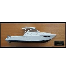Pursuit OS 355 Offshore custom half model with deck details