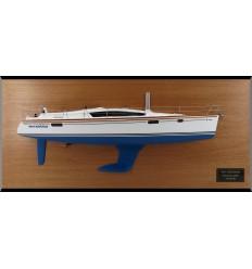 Jeanneau DS42 custom half model with deck details