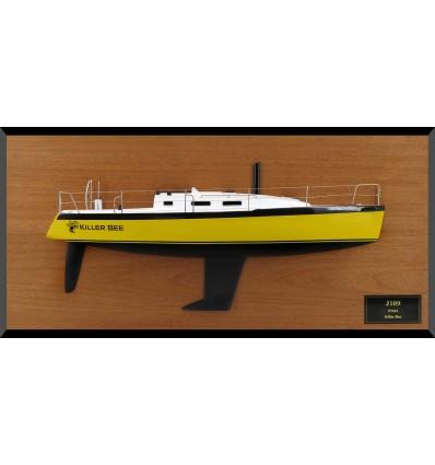 J 109 JBoats half model with deck details