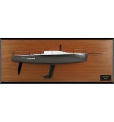 Farr 40 custom half model with deck details
