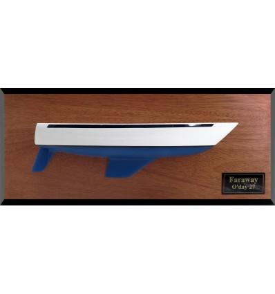 O Day 27 (Gurney design) custom half hull