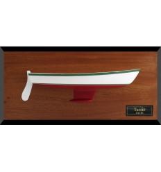 Cal 20 custom half hull