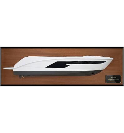 Sea Ray 520 Fly year 2018 custom half hull