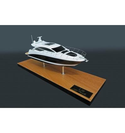 Sea Ray L590 Express custom desk model
