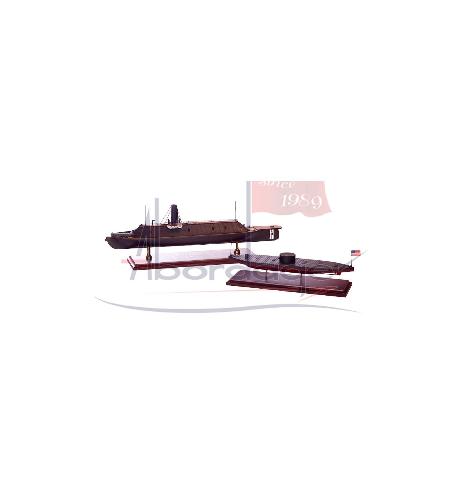 How To Build A Sub Box >> CSS Virginia Museum Quality Boat Model Replica - Handmade