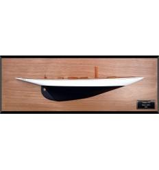 Vema III custom half model with deck details