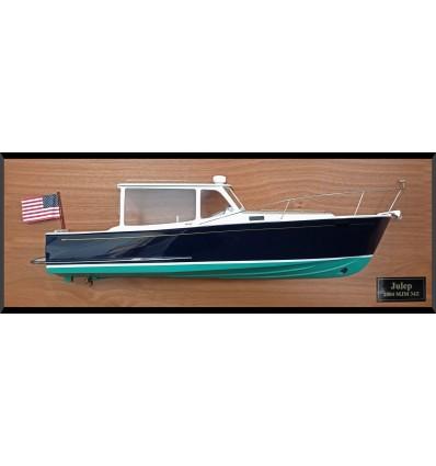 MJM 34z custom half model with deck details