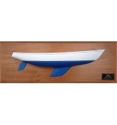Columbia 43 custom half hull