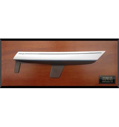 Tartan T10 custom half hull