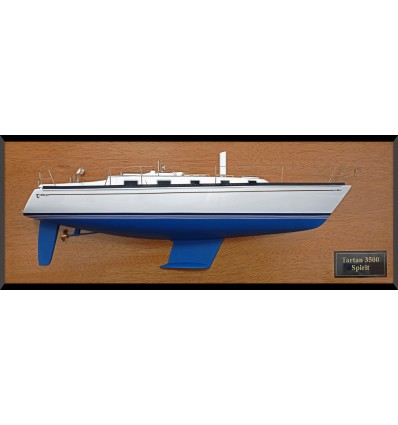 Tartan 3500 custom half hull