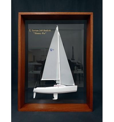 Tartan 245 framed half model