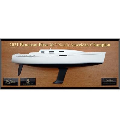 Beneteau 36.7 custom half hull