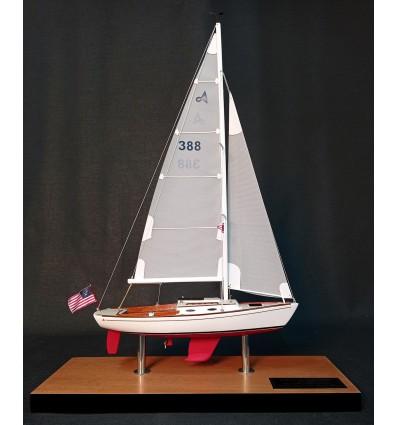 Alerion Express 28 custom desk model small replica