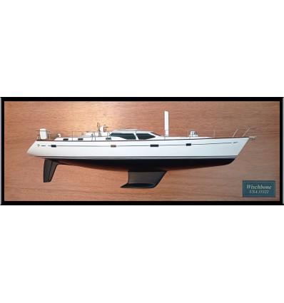 Oyster 53 Half model with deck details