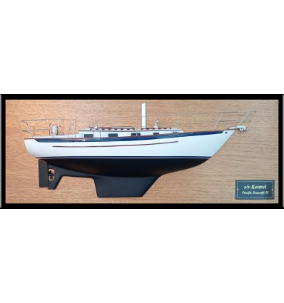 Pacific Seacraft 31 custom half model with deck details